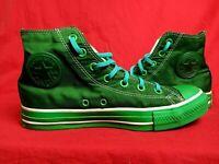 CONVERSE Size Men 6 Wo's 8  Chuck Taylor All Star High Tops Green Sneaker Shoe