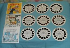 VIEW-MASTER REELS lot x3 sets Raggedy Ann and Raggedy Andy SCOOBY DOO Popeye