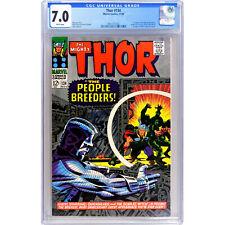 THOR #134 (1966) 🔥 1st appearance HIGH EVOLUTIONARY & Man-Beast 🔥 CGC 7.0 KEY!