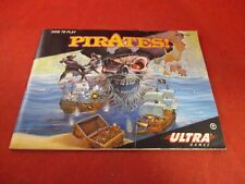 Pirates! Nintendo NES Instruction Manual Booklet ONLY