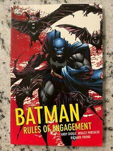 Batman Rules Of Engagement DC Comics TPB Graphic Novel Comic Book Gotham J595