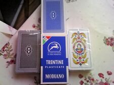New Modiano Trentine Italian Playing Cards SCOPA