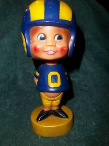 Vintage *Rare* 1975 Los Angeles Rams Bobble-Head By Sports Specialties