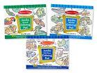 Melissa  Doug Jumbo 50-Page Kids' Coloring Pads Set - Animals, Vehicles, and