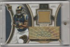 TODD GURLEY 2015 TOPPS SUPREME ROOKIE PATCH AUTO BLUE PRIME #D/45 RAMS RC