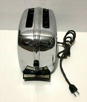 Vintage Mid-century Toastmaster Automatic Pop Up Toaster 1B24 Chrome WORKING!