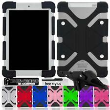 For ipad 2/3/4/5/6/7 air Pro Tablet Stylus Shockproof Silicone Stand Cover Case