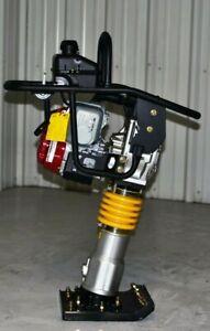 Packer Brothers rammer tamper jumping jack Honda PB78X 124lbs GX100