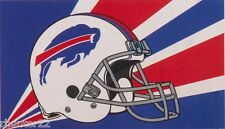 Buffalo Bills Huge 3'x5' NFL Licensed White Helmet Flag / Banner - Free Shipping