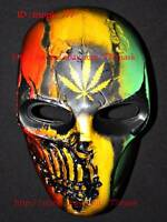 Skull Airsoft Mask BB Gun Paintball Helmet Goggle Armor Gear Cosplay Gift MA135