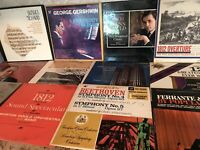 Classical Music Vinyl Record Lot - Eugene Ormandy Beethoven Gershwin Schubert