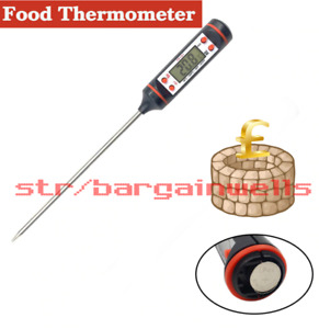 Thermometer Food Meat Cooking Digital Bbq Kitchen Read Instant Grill Probe Elect