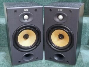 B&W (Bowers and Wilkins) DM601 Series 2..Bi-Wireable speakers. Black ash finish
