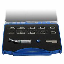 4:1 Reduction Dental Contra Angle IPR Handpiece plus 10 Interproximal Strips Kit