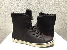 UGG CROFT SHORT SHEARLING CHOCOLATE ANKLE SNEAKERS SHOE US 8 / EU 39 / UK 6.5