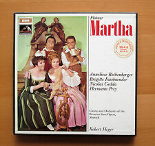 SLS 944 Flotow Martha Rothenberger Fassbaender Heger Angel 3xLP NEAR MINT