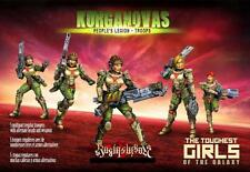 Raging Heroes KST Peoples Legion Troops Set