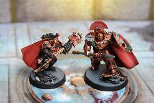 Asterion Moloc and Ivanus Enkomi of the Minotaurs Warhammer 40k painted