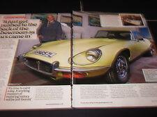 Derek Ketteringham Jaguar E-Type BBN857L, Rover 800, F823SMM, VW Polo J703LWD