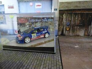 1/43 Vitesse Peugeot 206 WRC Rovanpera Rally Monte-Carlo 2002 RARE