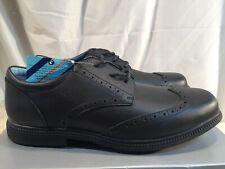f72d31d30d2a1 John Lewis Chancery Lace Up Black Leather Brogues Shoes UK Size 8 RRP £32