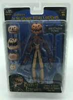 NECA Nightmare Before Christmas Series 4 PUMPKIN KING JACK Action Figure Set NEW