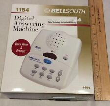 BellSouth Digital Answering Machine 1184 New In Box. Free Shipping