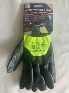 Portwest A146 Arctic Winter Thermal Lined Cold Working Gloves 9/L