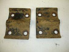 73-87 CHEVY GMC REAR 3/4 TON spring plates k20,c20,v20,r20