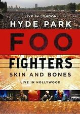 FOO FIGHTERS Hyde Park/Skin And Bones 2DVD BRAND NEW Live PAL Region 0