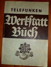 Telefunken Röhrenradio T612 T623 T633 T644 664 Schaltplan Techn.Daten 1936 /1937