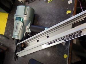 "Hitachi Metabo NR83AA5 Paper Collated 3-1/4"" Framing Air Nailer"