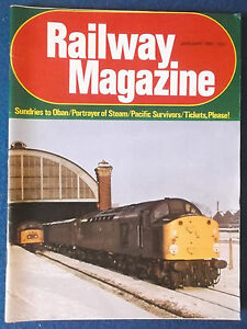 Railway Magazine January 1981