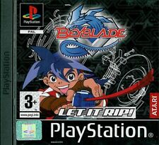 Beyblade Sony Playstation 1 PS1 3+ Fighting Game