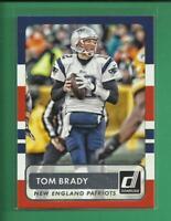 Tom Brady 2015 Panini Donruss Card # 22 New England Patriots Football NFL GOAT
