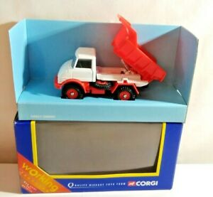 CORGI CLASSICS DIECAST FARM TRUCK - WORKING TIPPER - TY88201 - BOXED