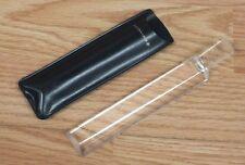 "Vintage Bausch & Lomb Clear 5"" (Inch) Magnifier Stick w/ Dark Blue Sleeve *READ*"