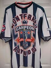 MONTERREY RAYADOS Campeon 2003 Clausura Signed Football Jersey Shirt Cemex
