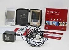 Lot Of 2 Palm One Tungsten E2 Pda Bundle w/ Stylus Software Usb Cord & Accessory