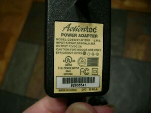 Actiontec power supply adapter charger CDS024T-W120U FOR T3260 JM