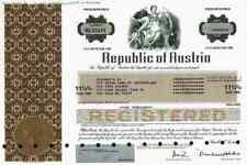 Republic of Austria 1989 New York  European American Bank Wien Österreich 1000 $