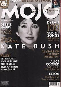 Mojo December 2005 Kate Bush, the Beatles, Jimi Hendrix, Bob Dylan 070317nonDBE