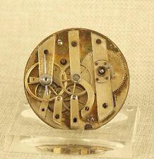E.FRANCILLON longines Uhr Werk Taschenuhr pocket watch movement fusee spindel 掛表
