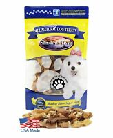 Shadow River ITTY BITTY Dog Bully Bites - 100% USA Beef Bully Stick Pieces 10oz