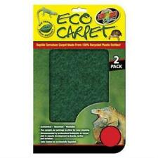 Zoo Med Pet Reptile Terrarium Enclosure Cage Carpet Rug Base Cleaning Layer New