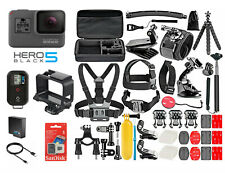 GoPro HERO 5 Black Edition Camera + 50 PCS Accessory +Frame +OEM Battery +Remote