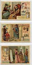Full Set, Liebig (OXO) S362, Word Pictures IX (X6) 1892 G-VG (Gu852-322)