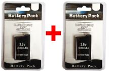2 x PSP 2000 3000 (SLIM) Replacement Battery Pack 3.6v 3600 mAh