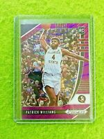 PATRICK WILLIAMS PURPLE PRIZM ROOKIE CARD JERSEY #4 FSU RC CHICAGO BULLS SP 2020