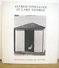 Alfred Stieglitz At Lake George by John Szarkowski 1995 HB/DJ First Edition